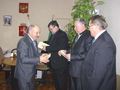 Член правления башмаковского землячества